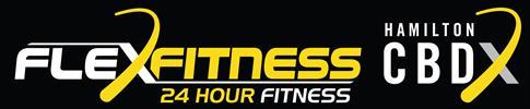 Link to Flex Fitness Hamilton CBD website
